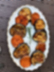 BBQ sweet potatoes and eggplant (2).jpeg