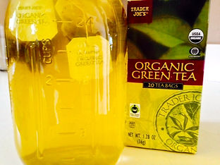 everydayhappyfoods Make your own green tea for smoothies