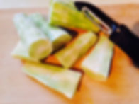 everydayhappyfoods Broccoli stems