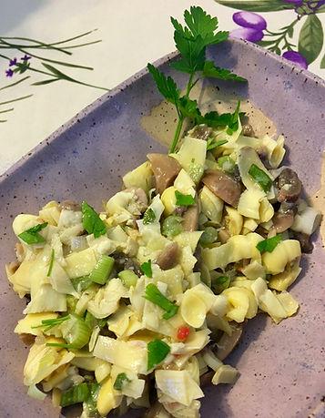 Artichoke Mushrom Salad
