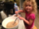 Rylan making instant oatmeal