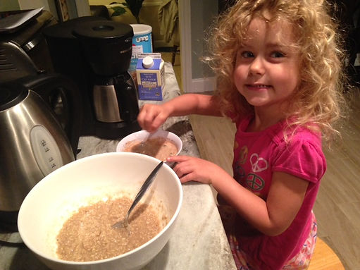 Making instant oatmeal