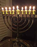 Chanukah, Menorah in the window