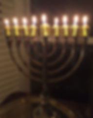 Chanukah Menorah. everydayhappyfoods