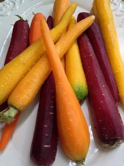 Carrots multicolored