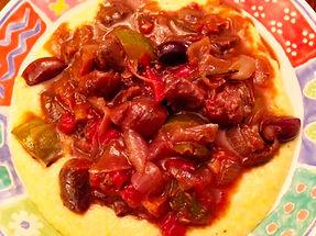 16_Mediterranean Lamb Stew over Creamy P