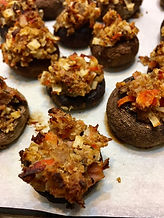 Baked stuffed mushrooms.jpg