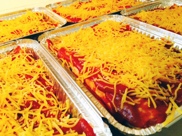 Enchillada Casseroles to freeze