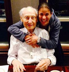 Lisa and her grandpa