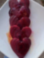 Valentine's Day Heart Beets