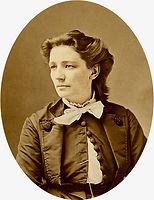 Victoria Woodhull by photographe Matthew Brady