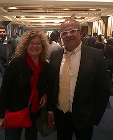Susan Weintrob and Yoram Shalom