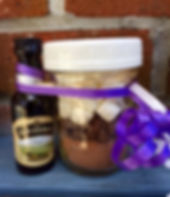 Gifts in a jar|everydayhappyfoods.com|Cocoa mix in a jar|#gifts in a jar