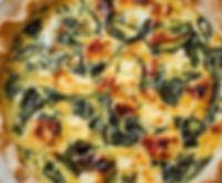 ricotta arugula-sun-dried-tomato-quiche.