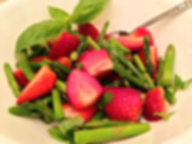 Strawberry-Asparagus Salad