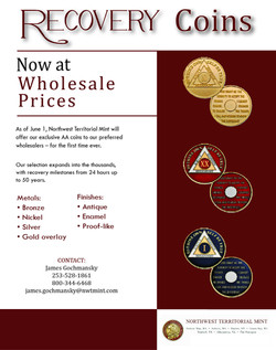 Recovery Coins Flyer