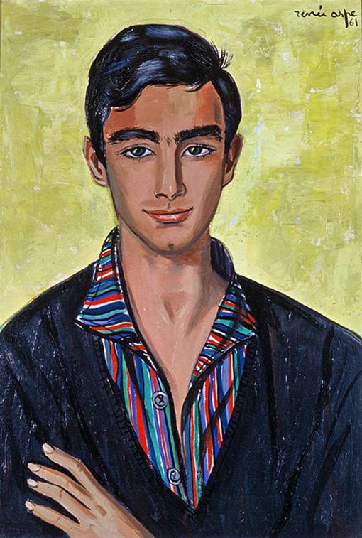 Son neveu, Jean-Claude - Portraits © Renée Aspe