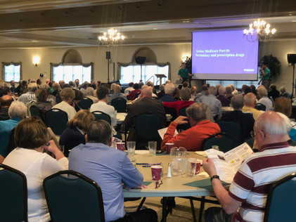 Hundreds of our clients enjoyed a breakfast buffet along with their annual Medicare Insurance Review