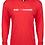Thumbnail: Long Sleeve T-Shirt Hoodie Unisex/Mens