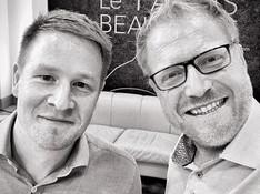 Antoine Eloy et Pierre Chotard, presidents de l'amitié rousso-blondovenitienne vous souhaitent à tous un bon retour , ils etaient chouettes_