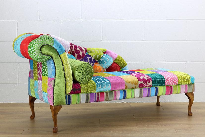 LHF Royal patchwork chaise longue