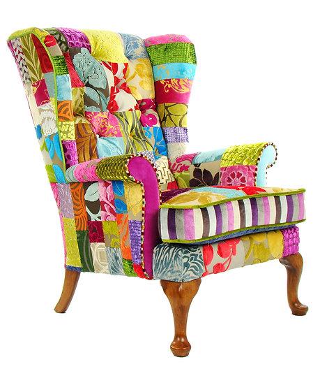 Penshurst patchwork chair