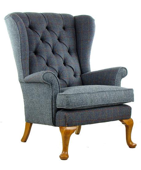 Penshurst Harris Tweed chair