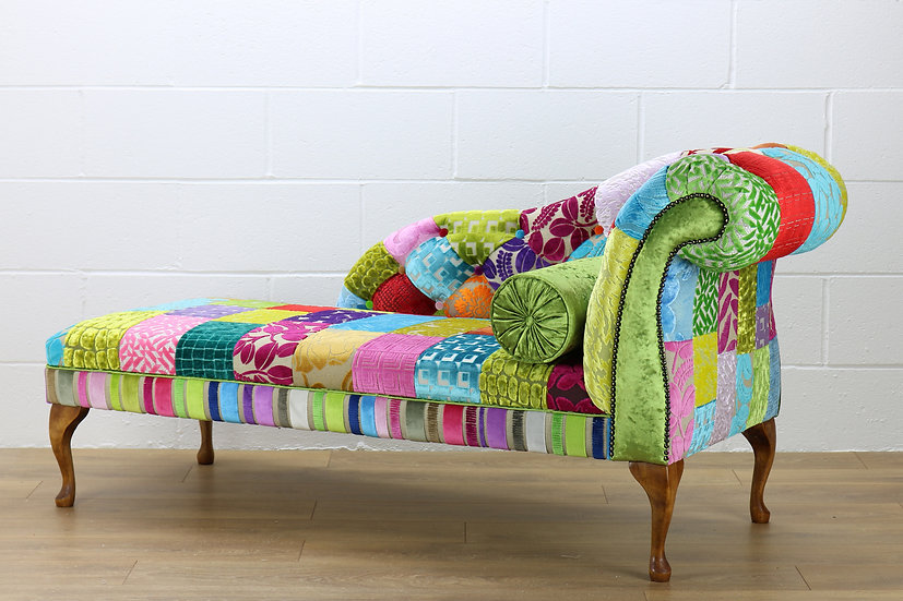 RHF Royal patchwork chaise longue