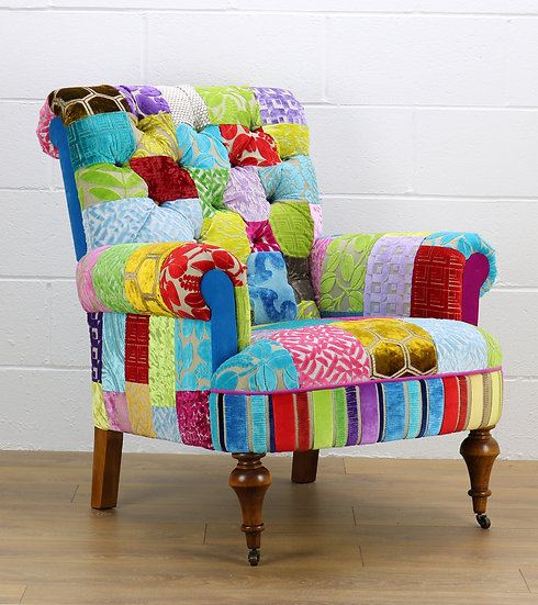 Stratford patchwork chair