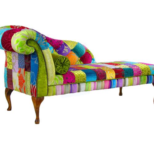 Royal Patchwork Chaise Longue