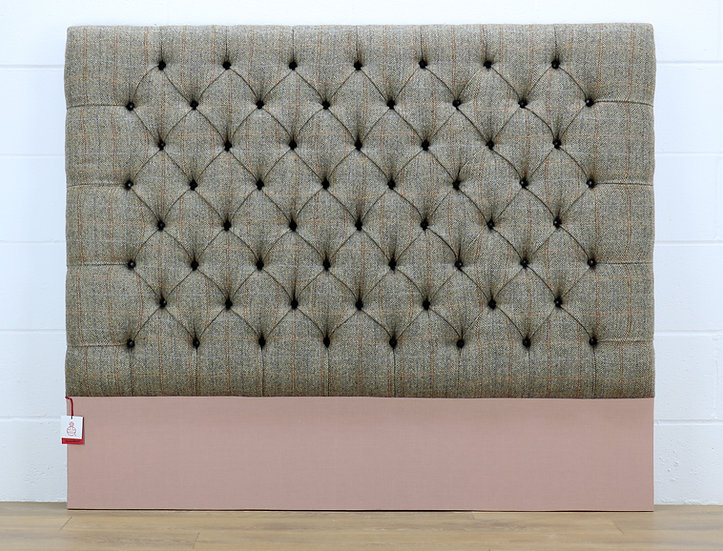 Harris Tweed headboard L002H