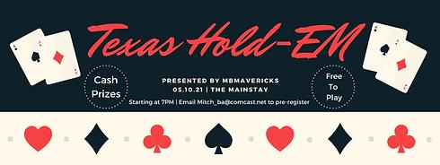 Vintage Poker Casino Party Facebook Even