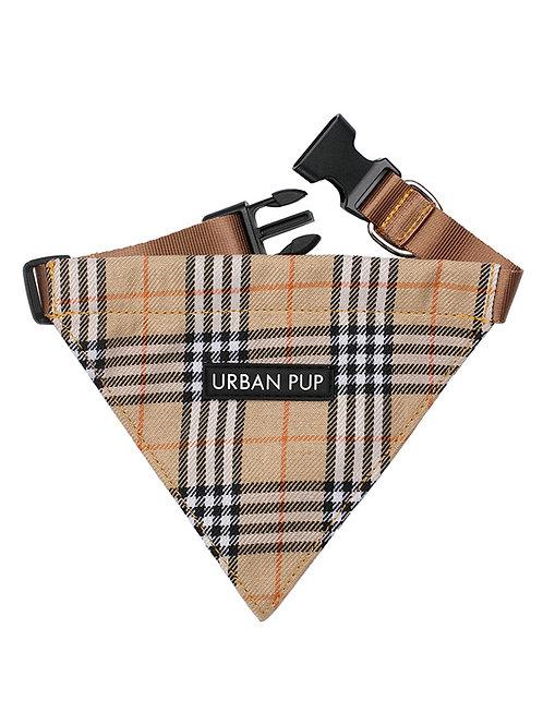 Brown Checked Tartan Bandana