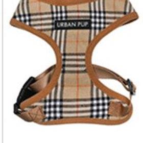 Brown Checked Tartan Harness