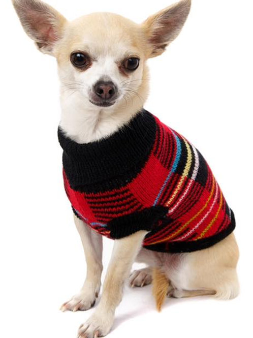 Striped Tartan Sweater