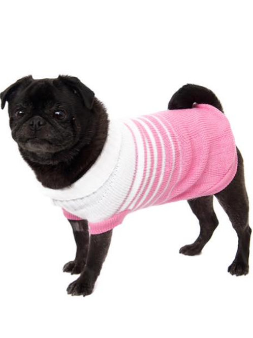 Fade to Pink Sweater
