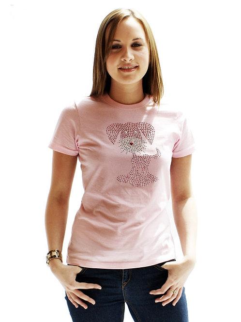 GlamourGlitz Womens T-Shirt
