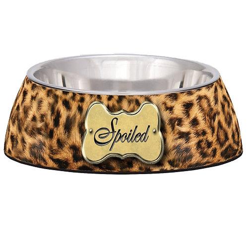 Leopard Print Spoiled Milano Bowls