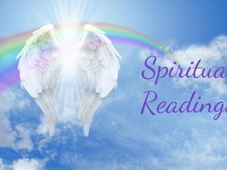 Private Readings & Healing 27th October 2019