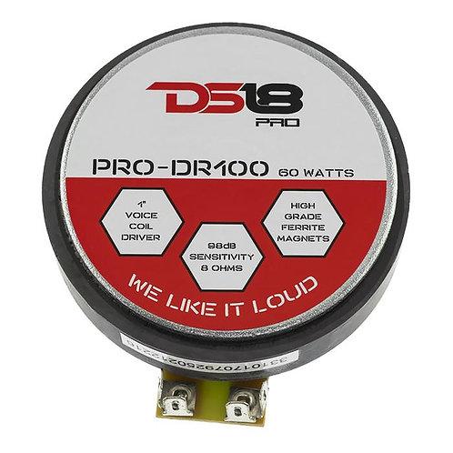 """DRIVER DS18 1"""" PRO-DR100"""