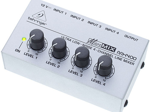 MIXER BEHRINGER MX400