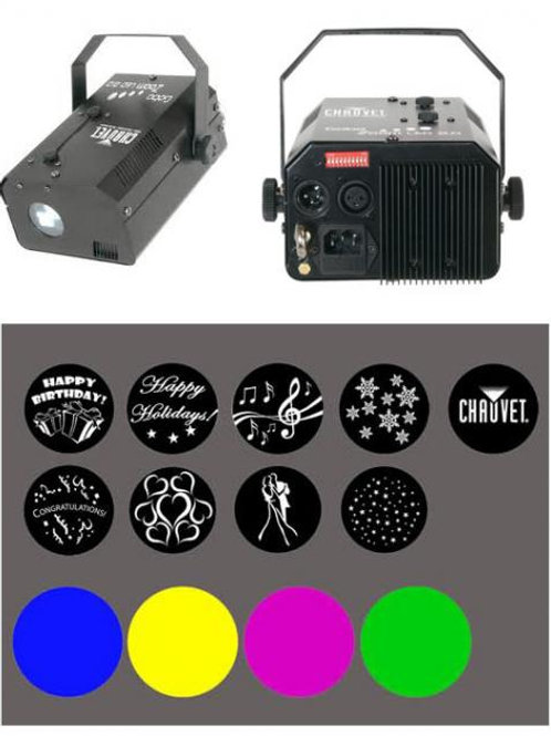 EFECTO LUCES CHAUVET GOBOZOOMLED2.0