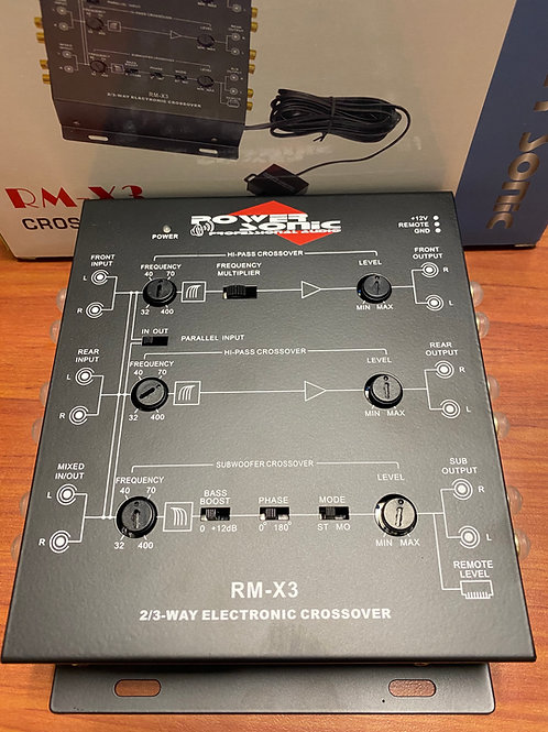 CROSSOVER POWER SONIC RM-X3