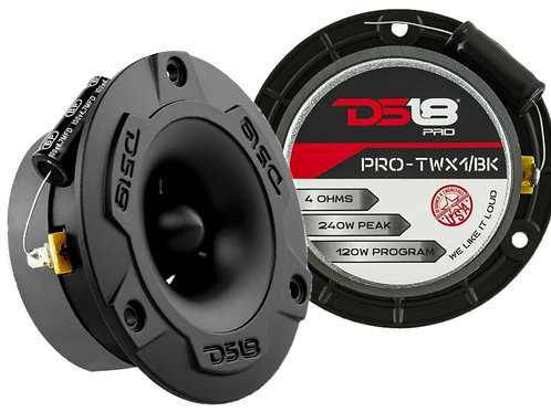 TWEETER AUDIO PIPE PRO-TWX1/BK