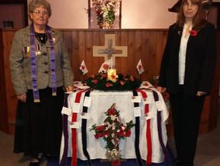 Remembrance Service 10th November 2019
