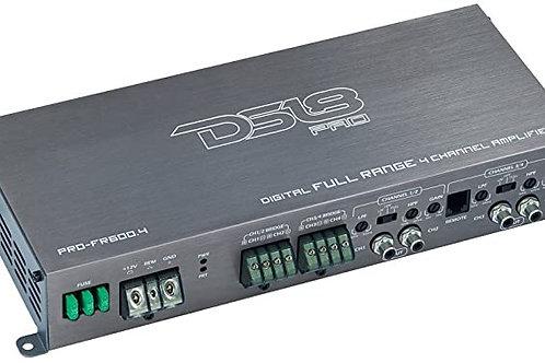 AMPLIFICADOR DS18 PRO-FR600.4