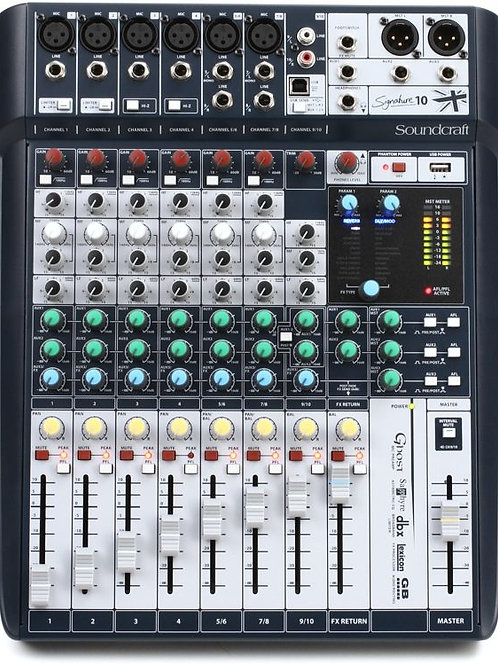 MIXER SOUNDCRAFT SIGNATURE10