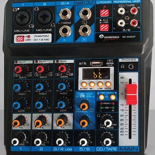 MIXER SOUNDTRACK MX-604DSP