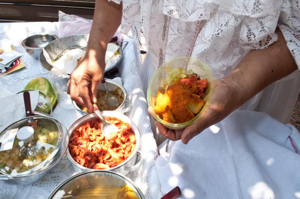 Acarajé - Pão de Festa