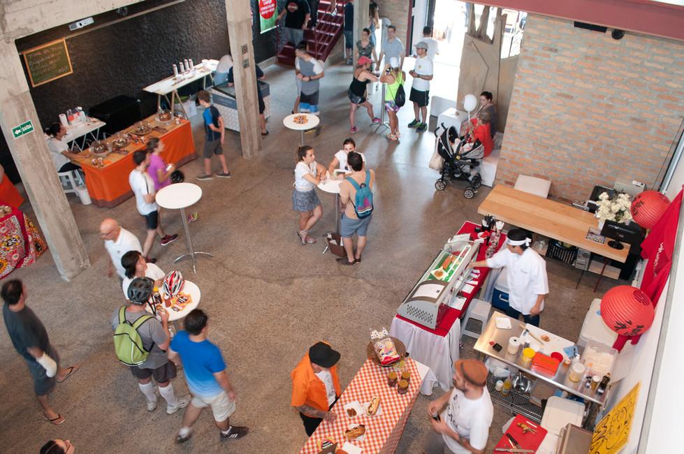 Feira Vila Olimpia Gastronomia
